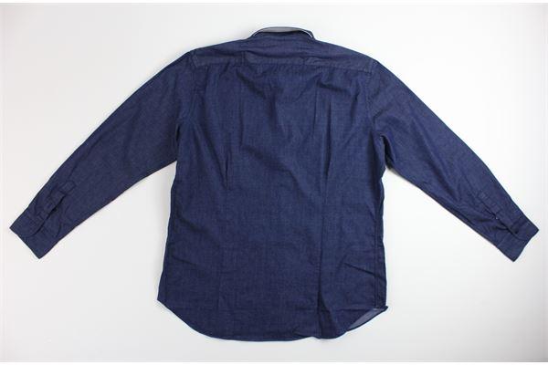 camicia manica lunga tinta unita 100%cotone MIRCAM | Camicie | INDACOBLU