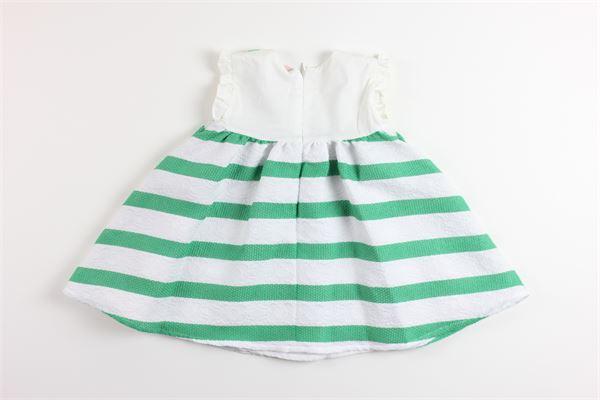 MISS BLUMARINE | Dress | 40NAB61BIANCO/VERDE