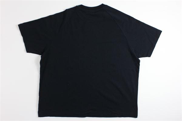 t-shirt mezza manica tricolore con stampa NAPAPIJRI | T-shirts | NP0A4EBG0411NERO