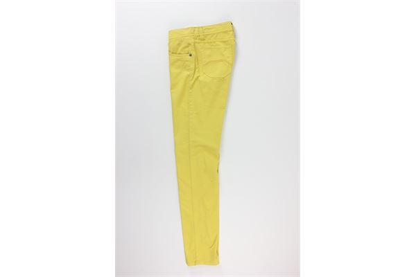 pantalone tinta unita 5 tasche NICWAVE | Pantaloni | ITCS54GIALLO