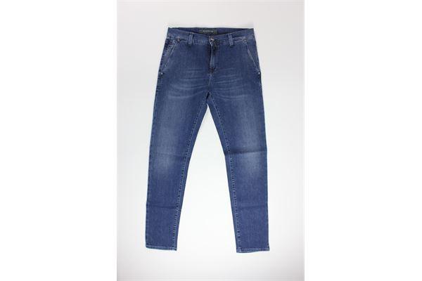 jeans tinta unita 5 tasche NICWAVE | Jeans | UNCA16JEANS