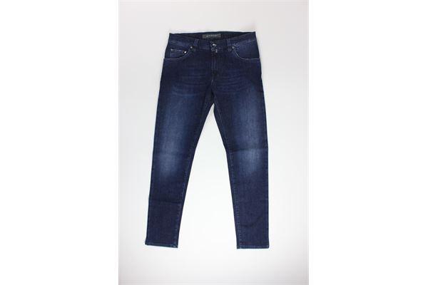 jeans tinta unita 5 tasche NICWAVE | Jeans | UNCS16BLU