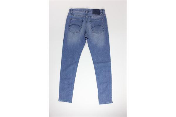 jeans tinta unita 5 tasche NICWAVE | Jeans | UNCS17BLU