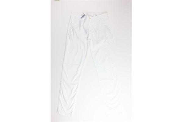 pantalone tinta unita 100%cotone NORTH SAILS | Pantaloni | 775288BIANCO