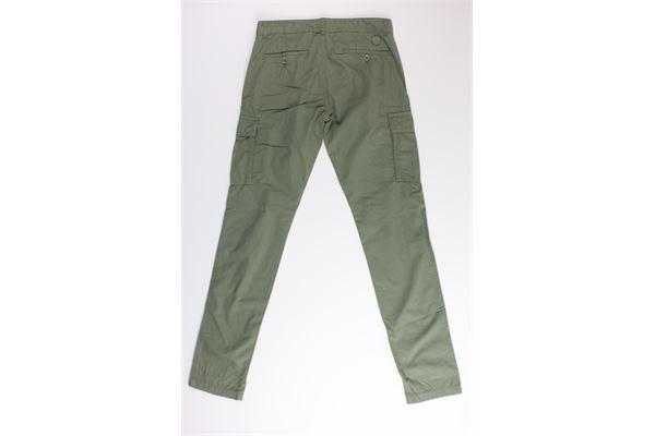pantalone tinta unita con tasconi NORTH SAILS | Pantaloni | 775289VERDE MILITARE
