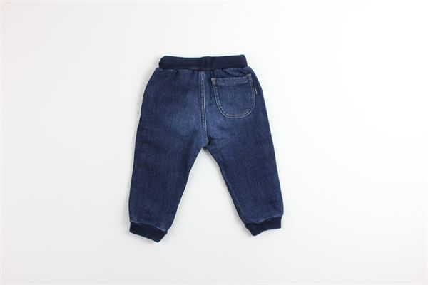 pantalone in denim con elastico tinta unita NORTH SAILS | Pantaloni | 787011BLU