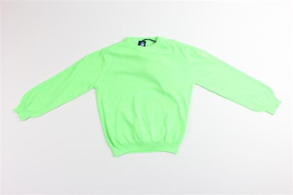 maglia tinta unita 100%cotone NORTH SAILS | Maglie | 796041VERDE FLUO