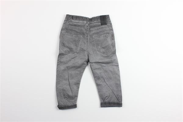 jeand tinta unita in denim con girovita regolabile NUMBERS | Jeans | 171/11GRIGIO