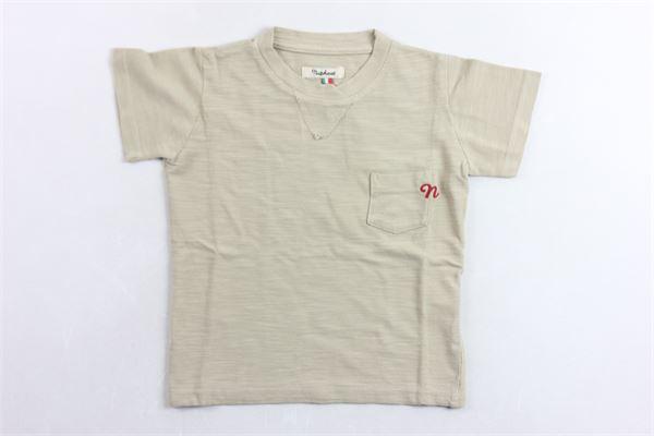 t-shirt tinta unita con taschino NUPKEET | T-shirts | 01NK593BEIGE