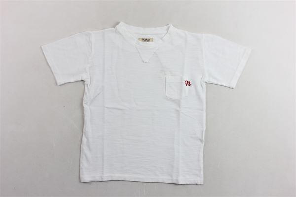 t-shirt tinta unita con taschino NUPKEET | T-shirts | 01NK593BIANCO