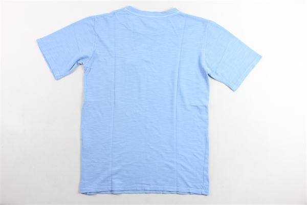 t-shirt tinta unita con taschino NUPKEET | T-shirts | 01NK593CELESTE
