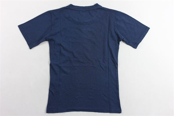 t-shirt tinta unita con taschino NUPKEET | T-shirts | 01NK597BLU