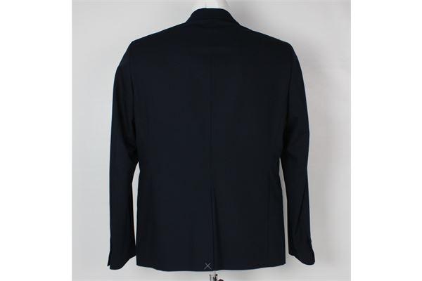 giacca  con taschino tinta unita OFFICINA36 | Giacche | 0AB00868151BLU