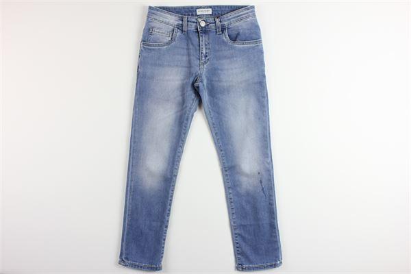 jeans tinta unita 5 tasche PAOLO PECORA | Jeans | PP2193BLU