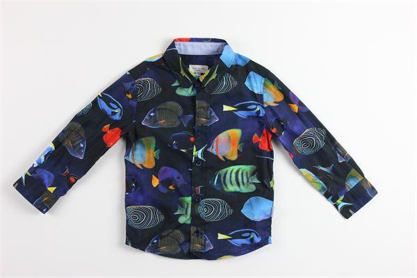 PAUL SMITH | Shirts | 5N12592BLU