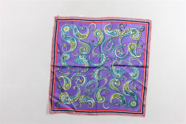 foulard in seta stampa fantasia PHILOSOPHY | Foulards | PJAV01TH019VIOLA