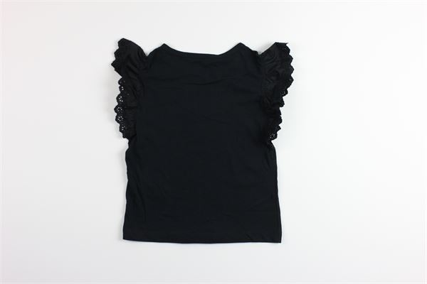 t-shirt manica ad aletta tinta unita PHILOSOPHY | T-shirts | PJTS311NERO