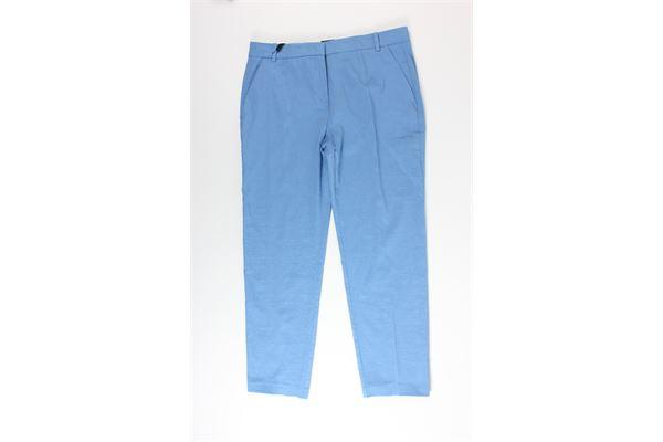 pantalone tinta unita PINKO | Pantaloni | 1B14FLCELESTE