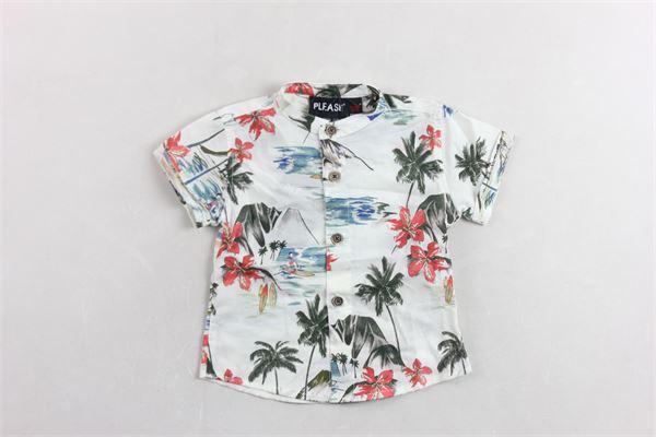 PLEASE | Shirts | CC37084B20BIANCO