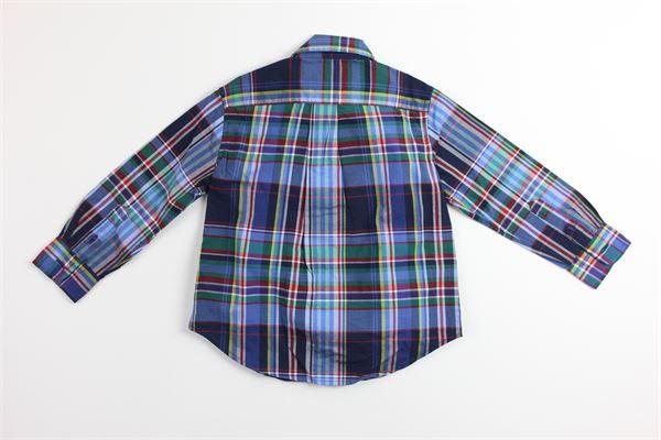 camicia fantasia  a quadri RALPH LAUREN   Camicie   321750000002BLU