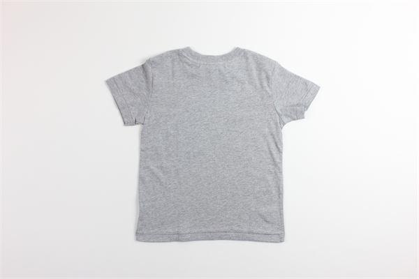 t-shirt tinta unita con stampa RALPH LAUREN   T-shirts   321755299002GRIGIO