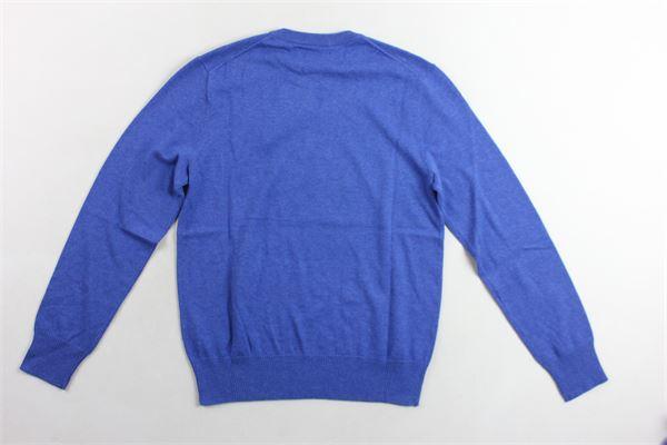 maglia girocollo tinta unita RALPH LAUREN | Maglie | 322702192011COBALTO