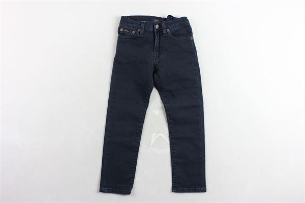 jeans 5 tasche girobita regolabile RALPH LAUREN | Jeans | 322759207001BLU