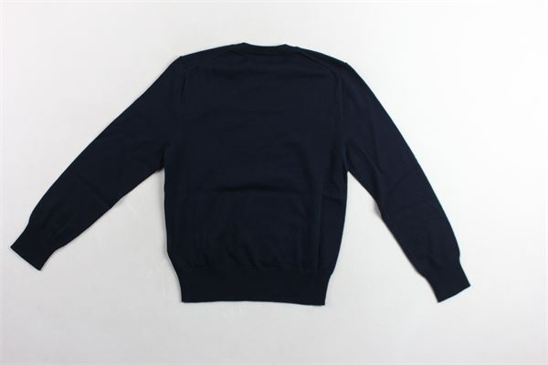 maglia girocollo tinta unita RALPH LAUREN | Maglie | 323702192010BLU