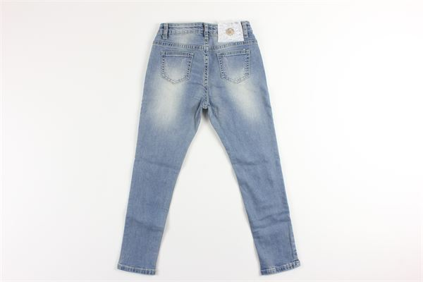 jeans iin denim con applicazioni e girovita regolabile RELISH | Jeans | PTRE91014JJEANS