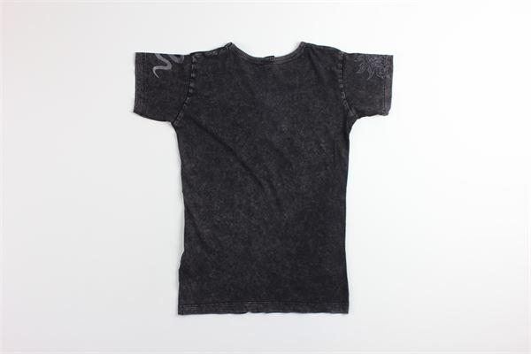 t-shirt tinta unita con stampa REPLAY | T-shirts | SB7301GRIGIO
