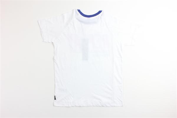 t-shirt tinta unita con stampa REPLAY | T-shirts | SB7381BIANCO