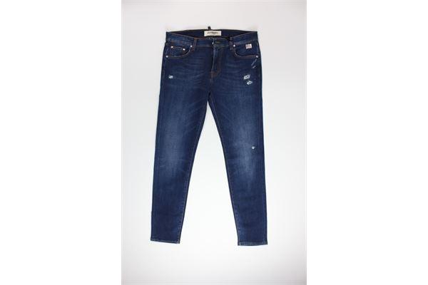 jeans tinta unita 5 tasche ROY ROGER'S | Jeans | 317JEANS