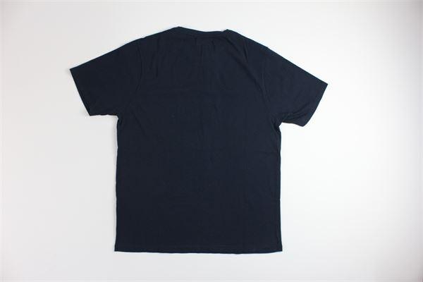 t-shirt mezza manica tinta unita ROY ROGER'S | T-shirts | 4484BLU