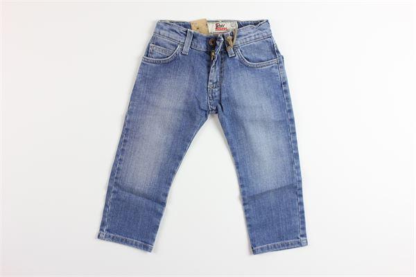 jeans girovita regolabile 5 tasche ROY ROGER'S | Jeans | BUGYBLU