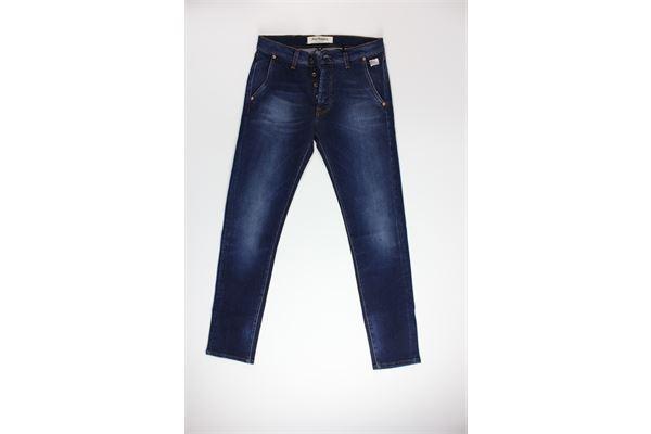 jeans tinta unita 5 tasche ROY ROGER'S | Jeans | ELIASJEANS