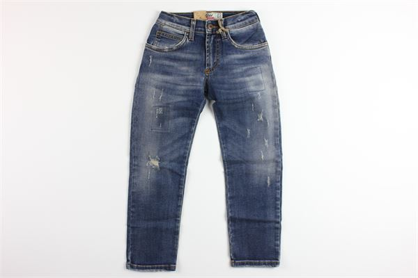 jeans girovita regolabile 5 tasche ROY ROGER'S | Jeans | EMANUELEBLU
