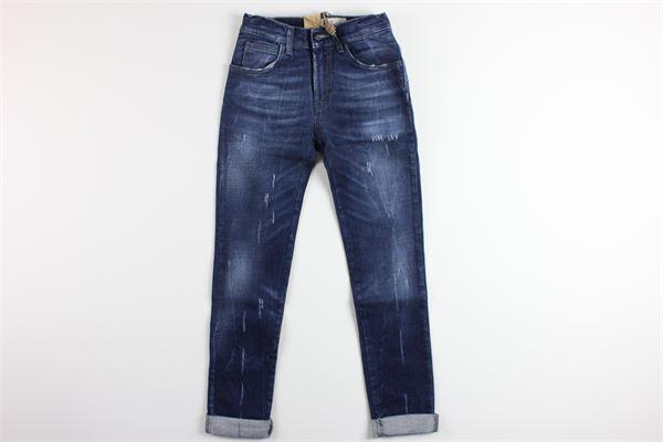 jeans 5 tasche girovita regolabile ROY ROGER'S | Jeans | SYRMABLU