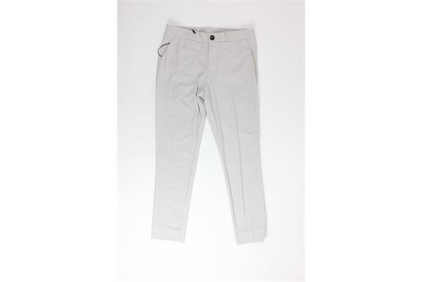 pantalone tinta unita RRD | Pantaloni | CAPRI LADYGHIACCIO