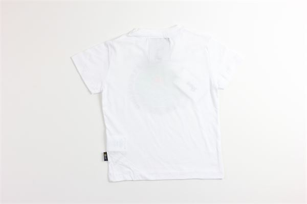 t-shirt tinta unita con stampa SHOE   T-shirts   F9TIMMYJ0631BIANCO