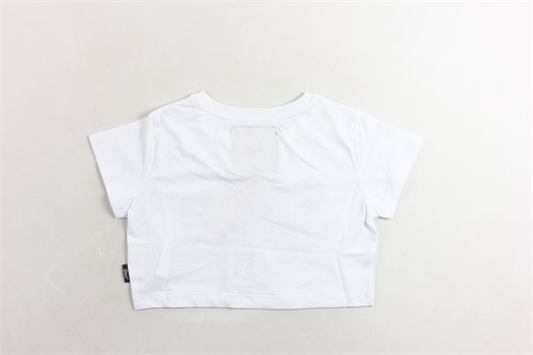 t-shirt mezza manica corta con stampa logo SHOE | T-shirts | TRISHJ0140BIANCO/NERO
