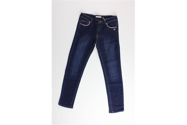 jeans tinta unita con applicazioni SILVIAN HEACH | Jeans | EDBI5085PAJEANS