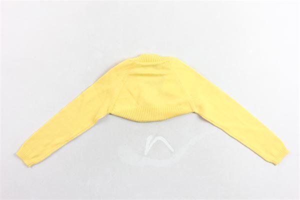 coprispalle  in cotone manica lunga tinta unita SIMONETTA | Coprispalle | 2A9105AI050GIALLO