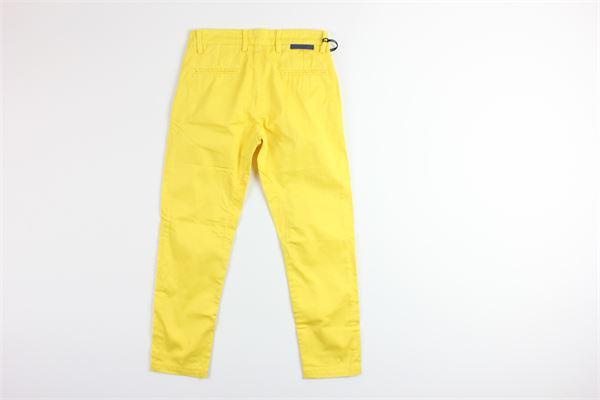 pantalone tinta unita tasche america SIVIGLIA | Pantaloni | SVJPT4824GIALLO