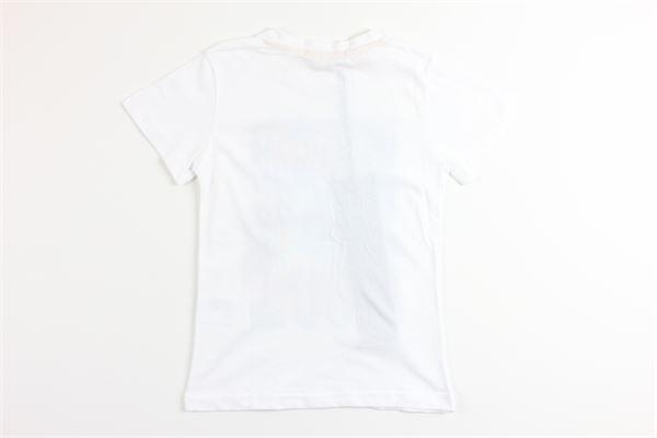 t-shirt mezza manica tinta unita con stampa SIVIGLIA | T-shirts | SVJTS3553BIANCO