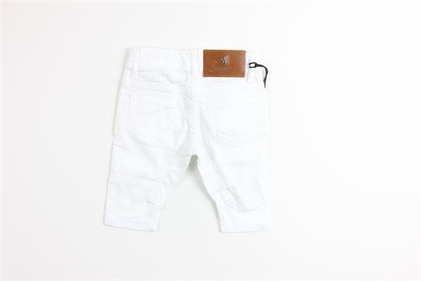 pantalone tinta unita con 5 tasche girovita regolabile SIVIGLIA | Pantaloni | SVNPT3633BIANCO