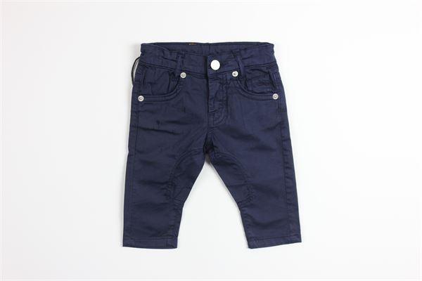 pantalone tinta unita con 5 tasche girovita regolabile SIVIGLIA | Pantaloni | SVNPT3633BLU