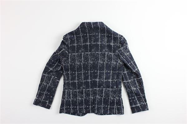 giacca stampa fantasia SP1 | Giacche | B3300903BLU