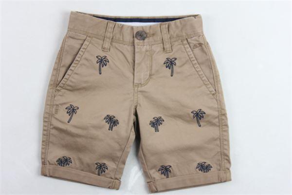bermuda tinta unita girovita regolabile tasca americana profili in contrasto SUN68 | Bermuda | B30303BEIGE