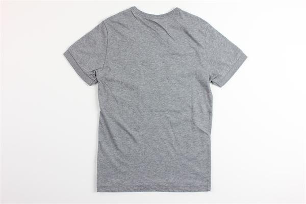t-shirt mezza manica tinta unita con stampa SUN68 | T-shirts | T303077GRIGIO