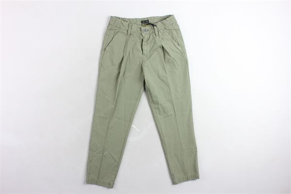 pantalone tinta unita  tasca americana TAGLIATORE | Pantaloni | CA220VERDE MILITARE
